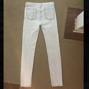 Rag & Bone light blue/white skinny jeans